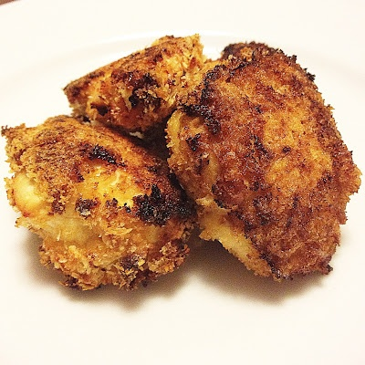 Oven Fried Parmesan-Crusted Chicken | dinner | Pinterest