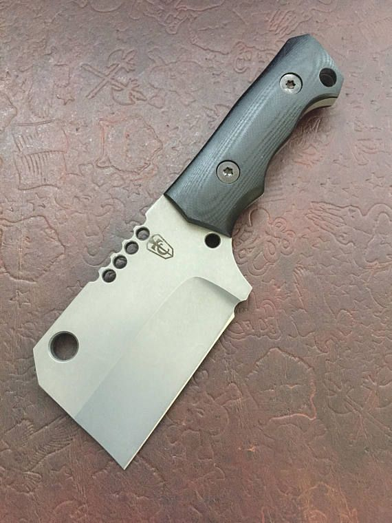 Personalizados hechos a mano fijo cuchillo