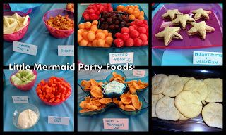 Food ideas: Little Mermaid Birthday Party!