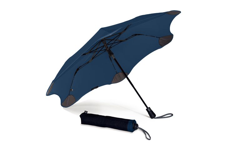 It's the strongest umbrella around, can be popped open with one hand, and is small enough to fit in your handbag. Get your Navy BLUNT XS_Metro umbrella at www.GumbootBoutique.com