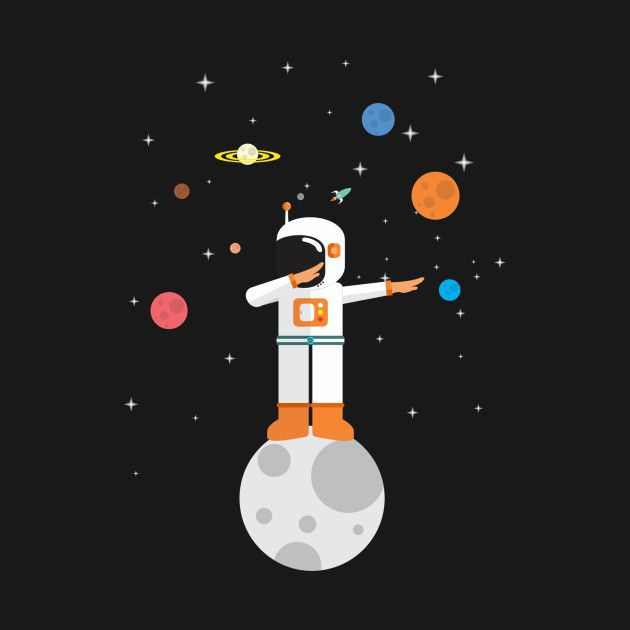 Check out this awesome 'Dab+Space' design on @TeePublic!