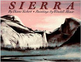 Sierra by Diane Siebert. Lots of personification and some similes.