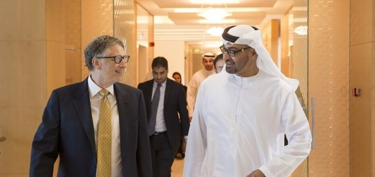Mohammad Bin Zayed thanked by Bill Gates for supporting drive to global polio eradication