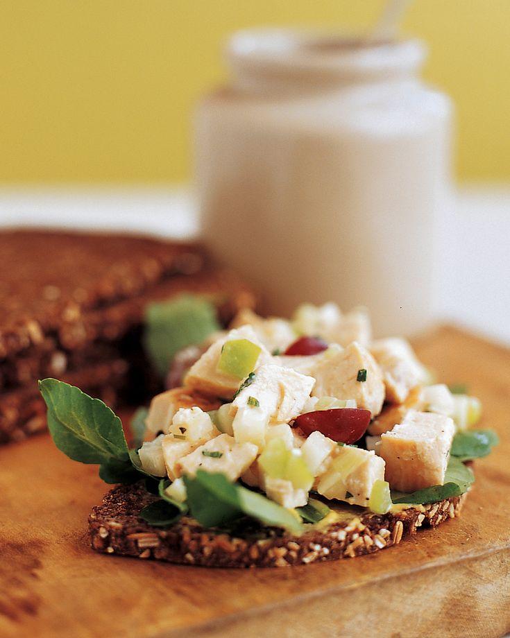 Healthy Chicken Salad Recipe & Video | Martha Stewart