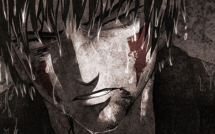 Descargar fondos de pantalla Kiba inu resultó, 4k, manga, Naruto