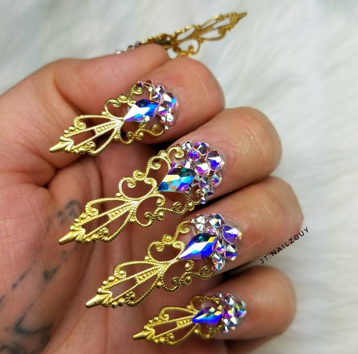 Image result for dramatic nails