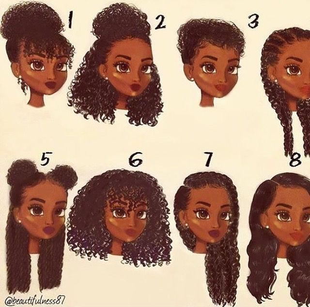 Image Result For Natural Curly Hair Hairstyles For School With