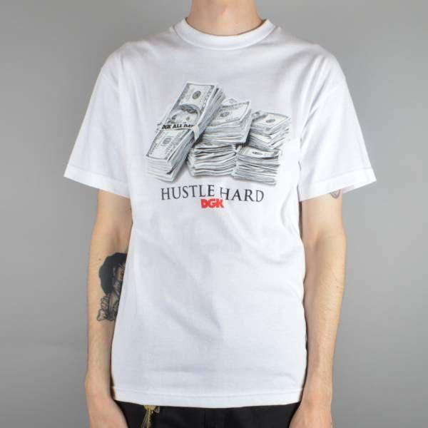 DGK Racks Skate T-Shirt - White - DGK from Native Skate Store UK