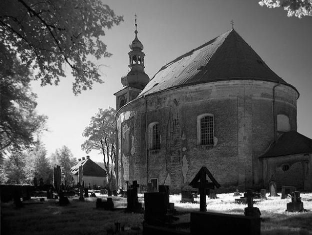 Broumovsko - Kostel sv. Michaela, Vernéřovice