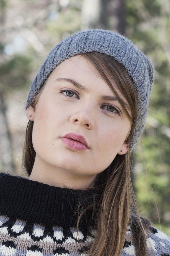 Rätstickad mössa Novita Alpaca Wool | Novita knits