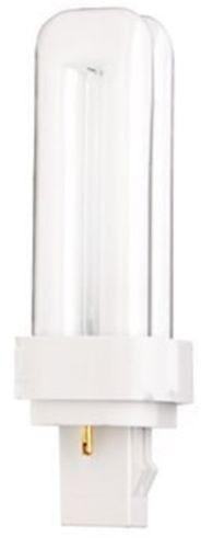 Satco S6718 - 13 watt, pin-based Compact Fluorescent Bulb, 3000K, GX23-2 base