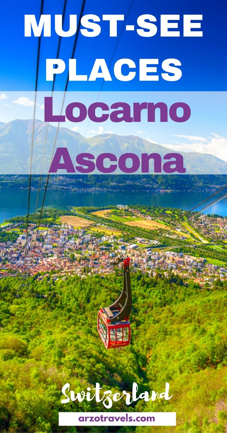 Find out how to spend 2 wonderful day in Locarno/ Ascona, in Ticino Switzerland. Must-see places in Locarno.
