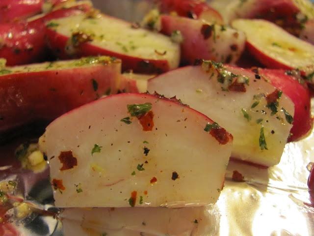 Roasted Radishes: Sweets, Lunches, Recipes, Roasted Radishes, Sweet Domesticity