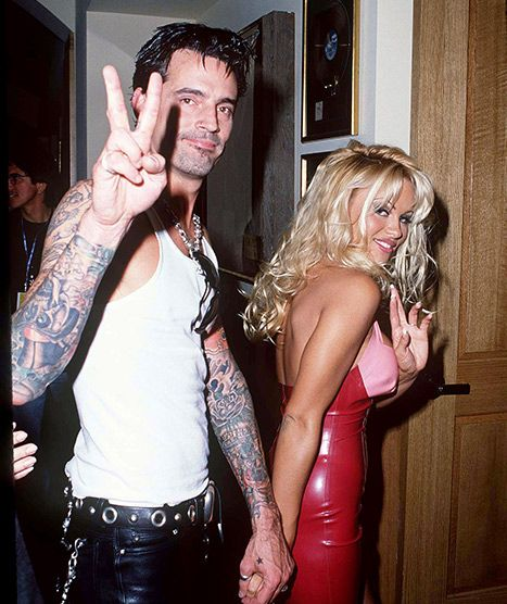 Its All Good Pam Anderson, Ex-Husband Tommy Lee Reunite -4083