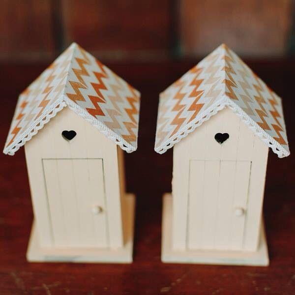 Romantic little cabins