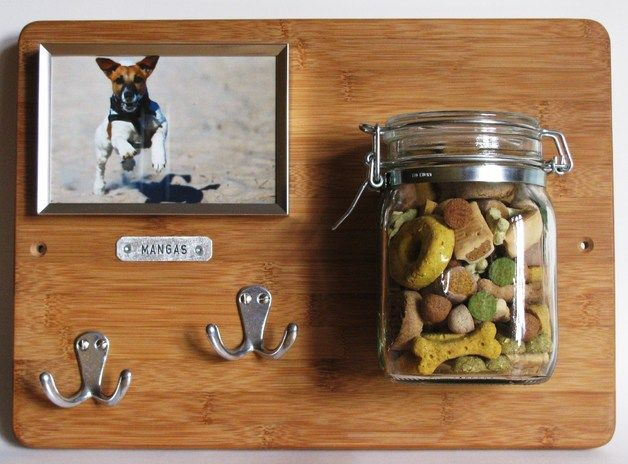 "Hundegarderobe ""HÄNGAR"" // garderobe for dogs by Schraubenwerft via DaWanda.com"