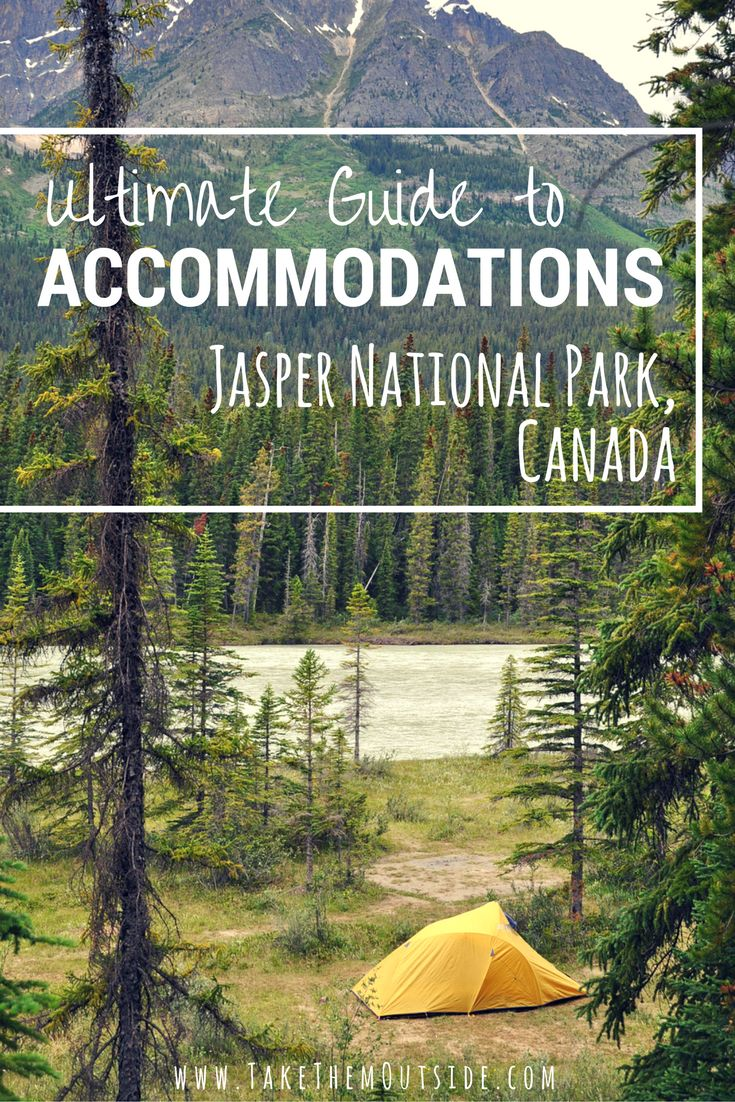 A guide to your Jasper accommodation options... from camping to luxury hotels, hostels and private rentals. Jasper National Park, Canada has it all.