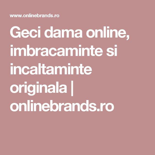 Geci dama online, imbracaminte si incaltaminte originala | onlinebrands.ro