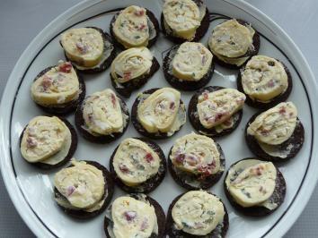 Das perfekte Goudaröllchen auf Brottalern-Rezept mit Bild und einfacher Schritt-für-Schritt-Anleitung: Bitte 1 - 2 Tage vorher zubereiten..... dann sind…