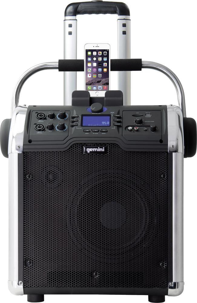 Mobiler Lautsprecher 25.4 cm (10 Zoll) Gemini MPA 3000 akkubetrieben 1 St.