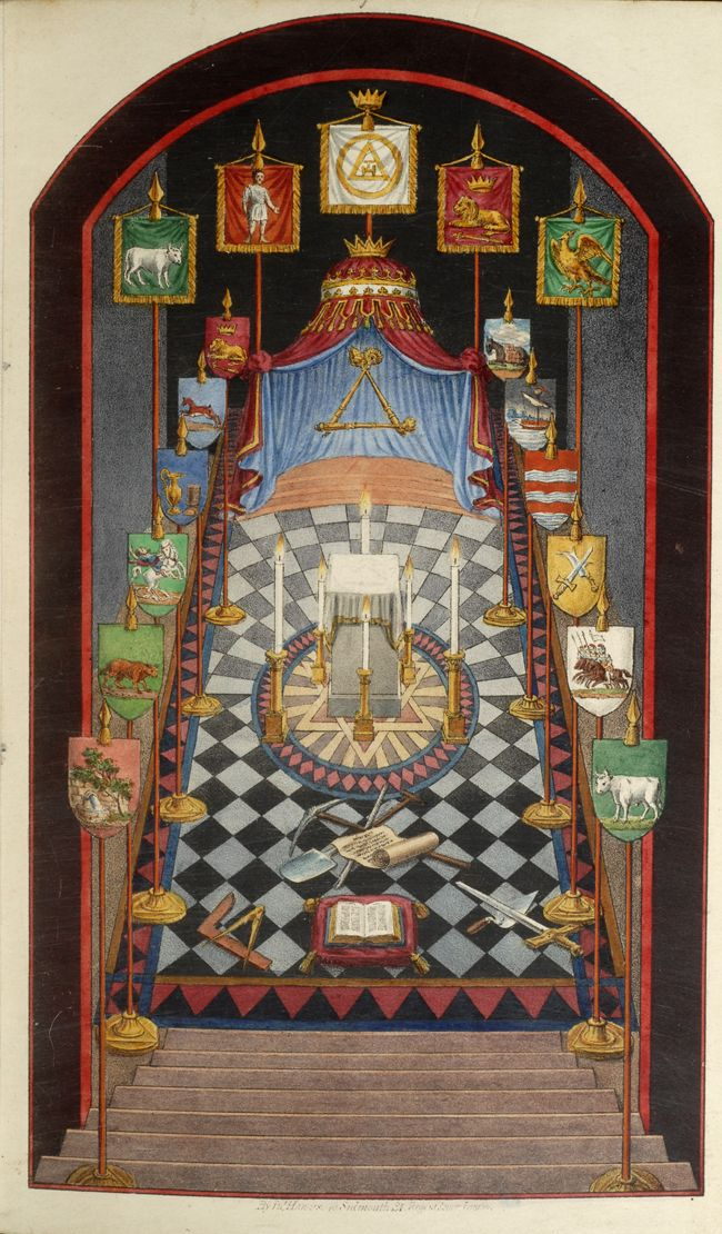66 Best Masonic Tracing Boards Images On Pinterest