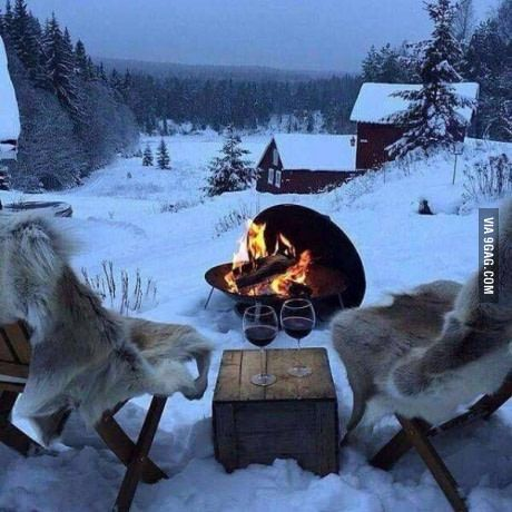 This is how we Siberians spend romantic evenings. #lol #funny #rofl #memes #lmao #hilarious #cute