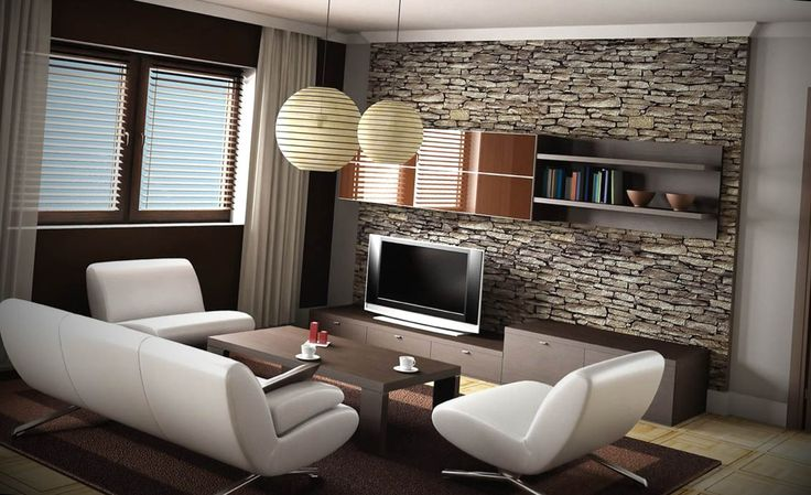 Para o ajudar na decoração da sua sala de estar com papel de parede, deixamos aqui vários exemplos. Confira a nossa galeria de fotos e inspire-se.