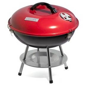 "Cuisinart 14"" Portable Charcoal Grill - Red"