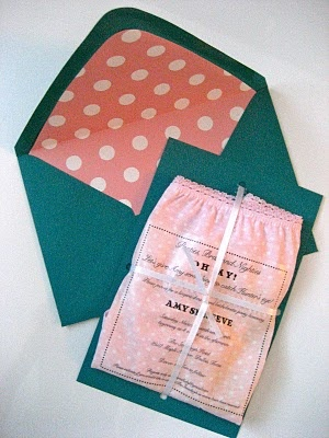 lingerie shower/bachelorette party invitations. I think that we should do something like this a few days before the wedding just for fun!