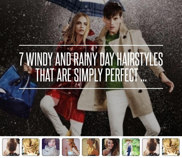 7. Throw on a Hat - 7 Windy and Rainy Day Hairstyles That Are Simply Perfect ... → Hair