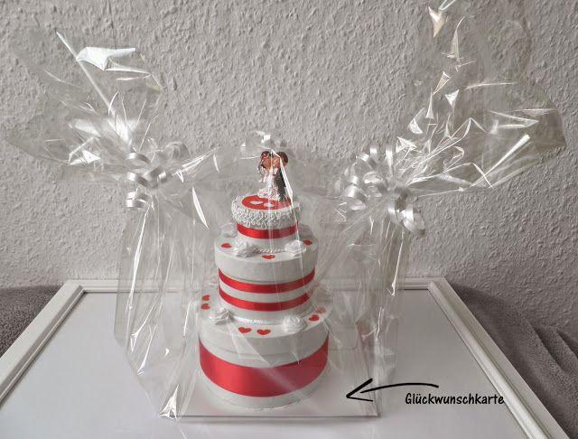 RABEERCHEN: Geschenk zur Hochzeit - die Torte