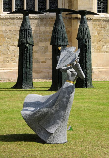 The Sentinels & Gale Force Nun II. Sculptures by Philip Jackson