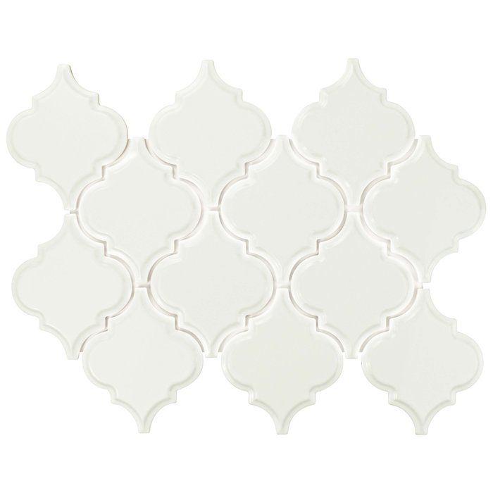 Biselat Beveled Grand 5 5 X 6 63 Lantern Ceramic Field Tile In