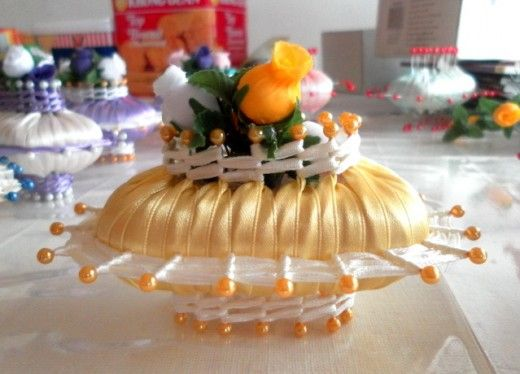 Decorated Soap Crafts | Country Style Soap And Ribbon Decoration Handicraft From The Past