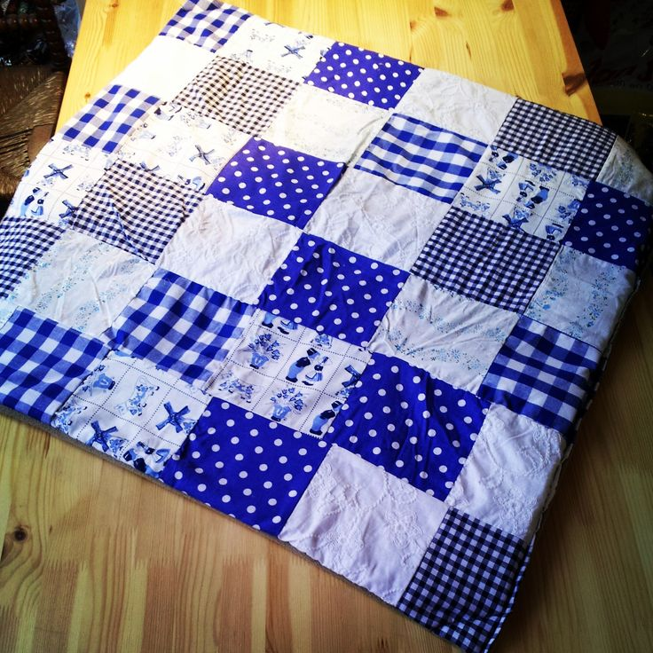 Homemade Sewn Blankets. Visit my blog www.gekkiggeitje.nl to see more of them and to order one!