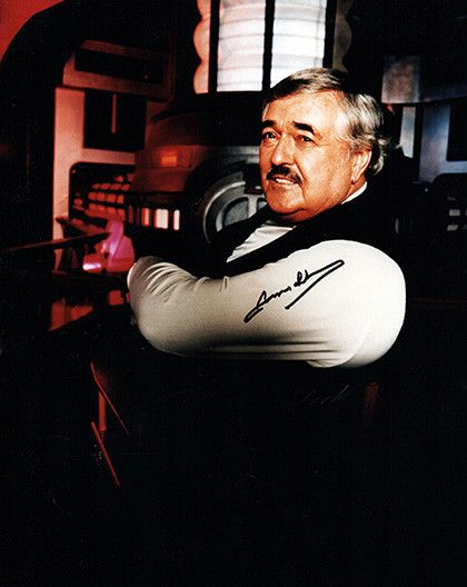 Star Trek Legend James Doohan Autograph Hand Signed Star Trek Scotty Photo