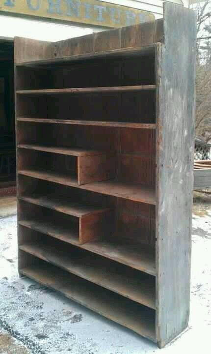 Tinkertown Antiques Buttery shelves- love this. The perfect buttery.