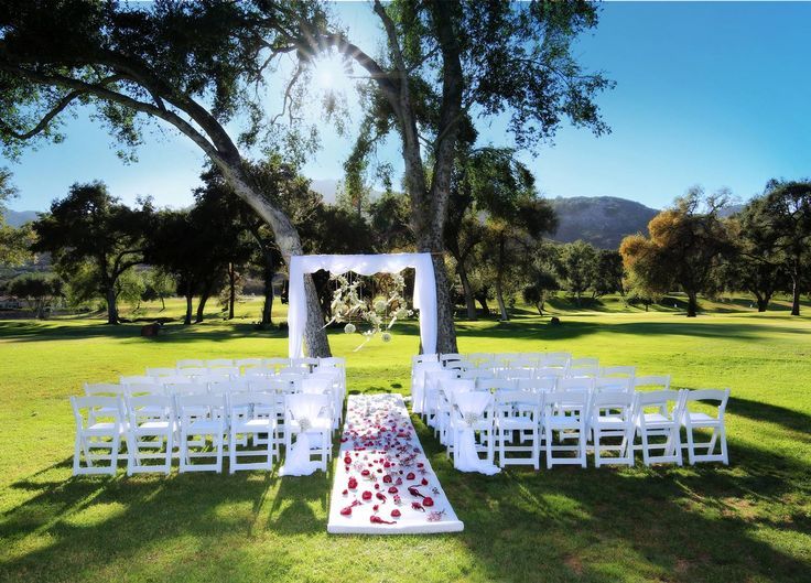 Event Space on the Fairways is a stunning setting at Welk Resorts San Diego, California.