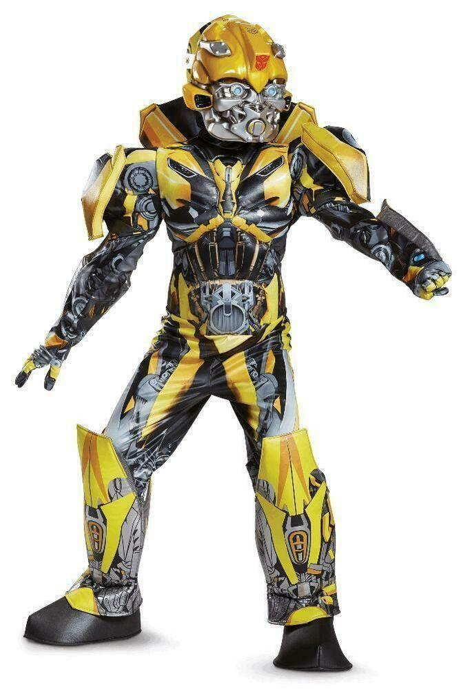 2014 Child Costume Bumblebee Transformers 4