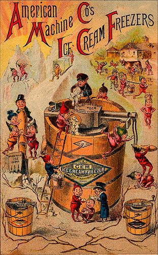 American Machine Co....My mission to find a vintage Ice Cream maker