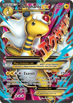 ampharos mega 7 pokemon card - Google Search