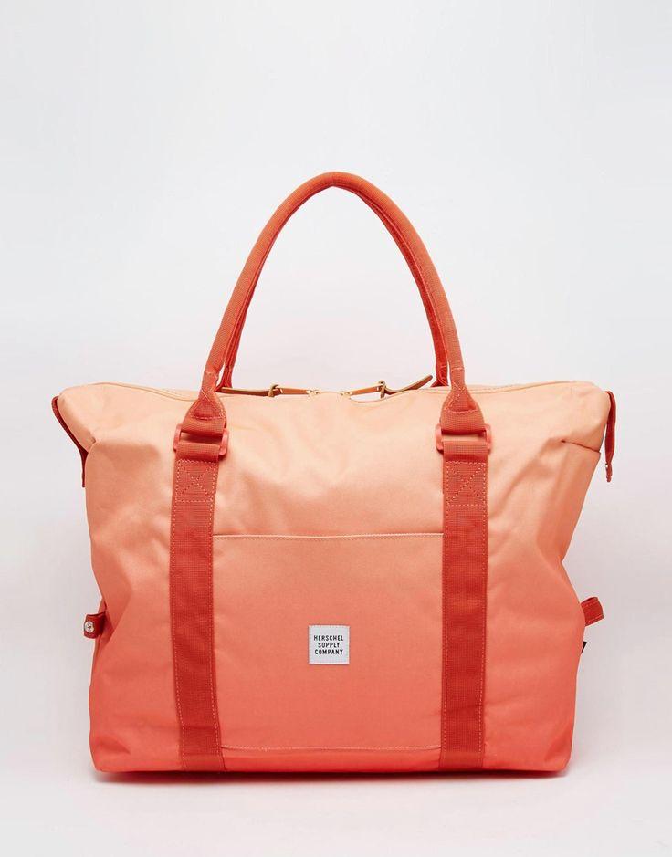 Изображение 1 из Оранжевая сумка с эффектом омбре Herschel Supply Co Strand