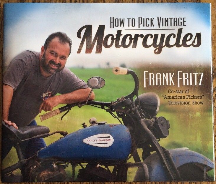 How to Pick Vintage Motorcycles by Frank Fritz of American Pickers    eBay