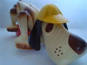Hound Dog Toy---vintage toys 1970's. Awww I miss mine :(