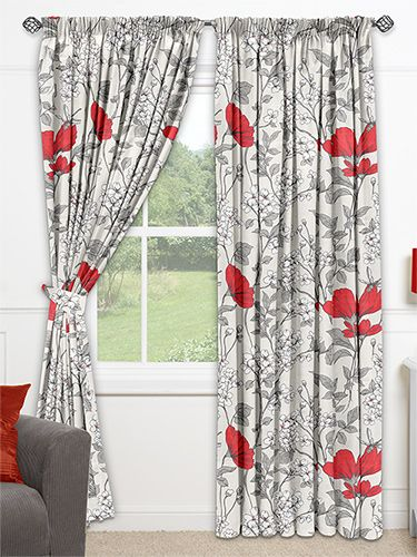 Abbey Passion Fruit Curtains from Curtains 2go
