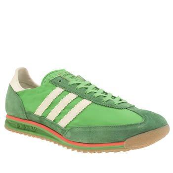 mens adidas green sl 72 trainers