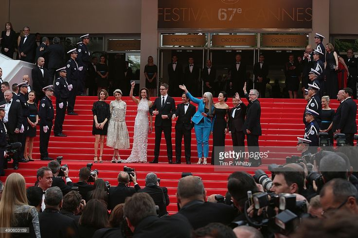 Official Selection Jury members Sofia Coppola, Leila Hatami, Carole Bouquet, Nicolas Winding Refn, Gael Garcia Bernal, Jury President Jane Campion, jury members Do-yeon Jeon, Zhangke Jia and Film Festival Director Thierry Fremaux attend the Opening ceremony and the 'Grace of Monaco' Premiere during the 67th Annual Cannes Film Festival on May 14, 2014 in Cannes, France.