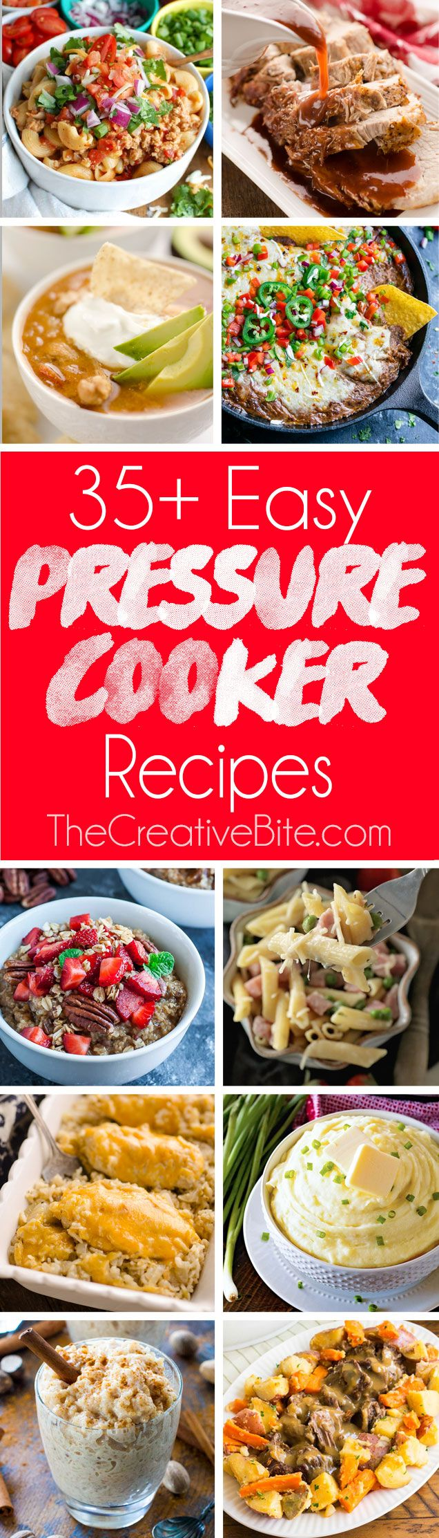 Easy Electric Pressure Cooker Recipes for your Instant Pot are perfect for beginners and anyone looking for new and exciting dinner ideas.  #InstantPot #PressureCooker #Recipes