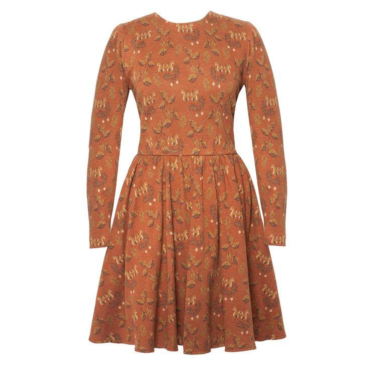 Ringo Dress squirrel rust - Online Shop - Lena Hoschek Online Shop