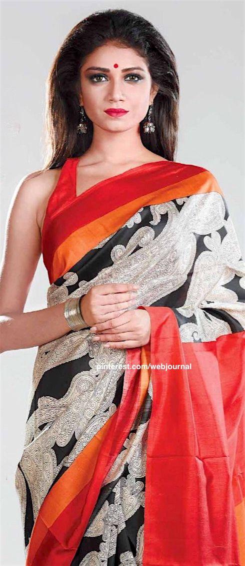 Printed Katan Silk: Sananda